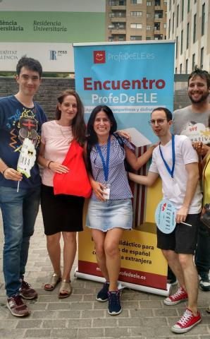 Daniel, Manuela y Matías. Met de ProfeDeELE team in Valencia